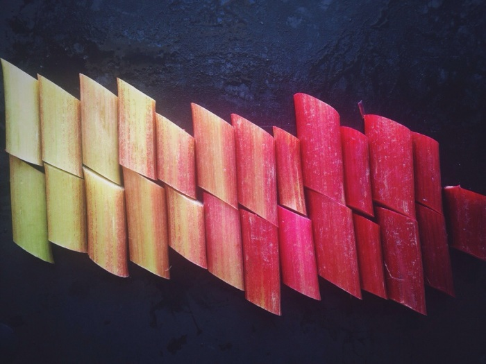 Ombre Rhubarb