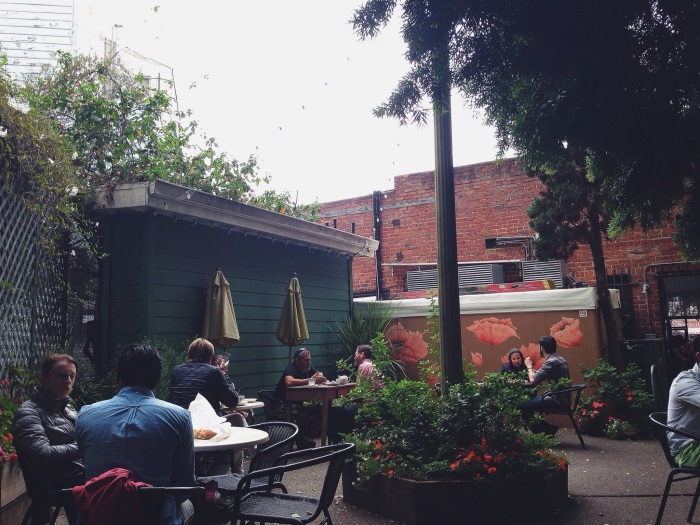 The most darling courtyard there ever was