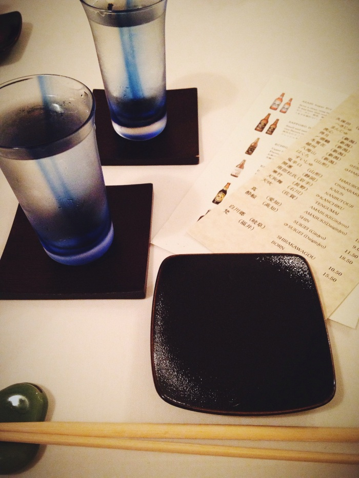 I enjoyed this sake so much I may even buy a bottle for sipping at home in the future!