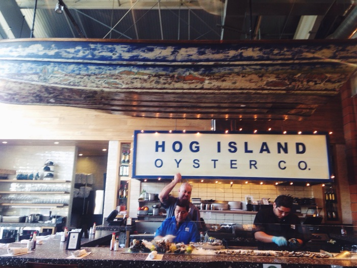 Oysters and a sense of humor, what else do you need?