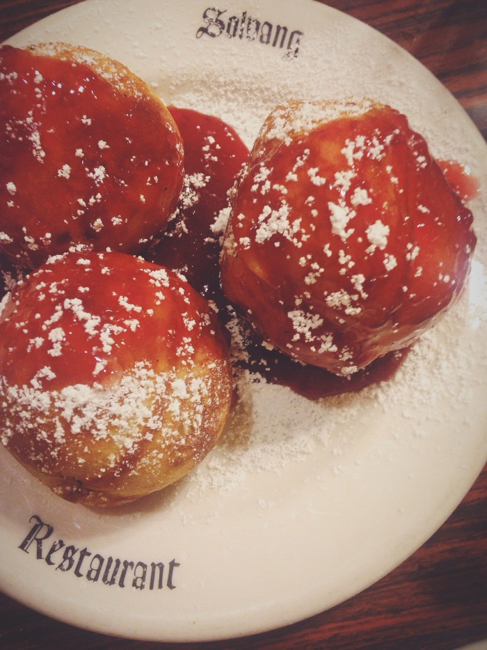 Abelskivers...traditional Danish pastries