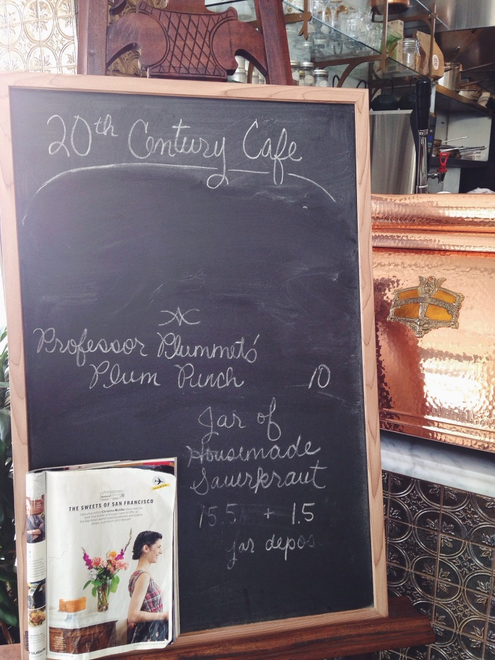 This little gem also has a feature in last month's Bon Appetite Magazine, way to go 20th Century Cafe!