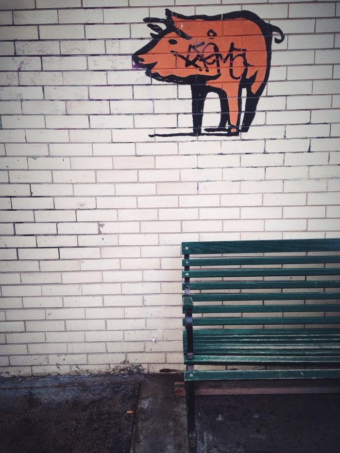 Street art obsession.