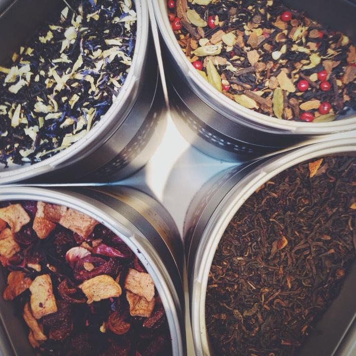 Restocking my tea stash