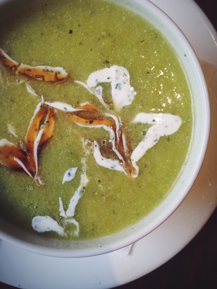 Abstract Pea Soup
