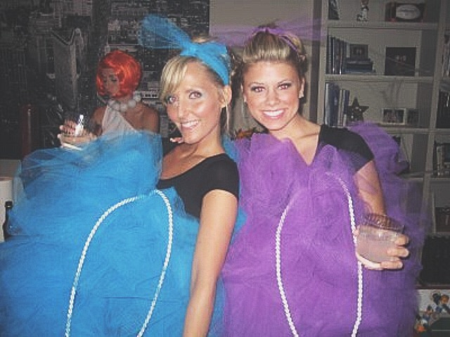 Loofahs! Honestly, the best costume ever.