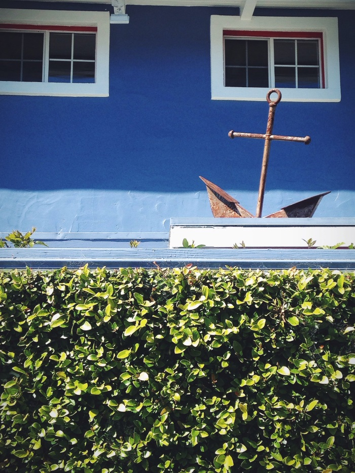A nautical inspired roof decal