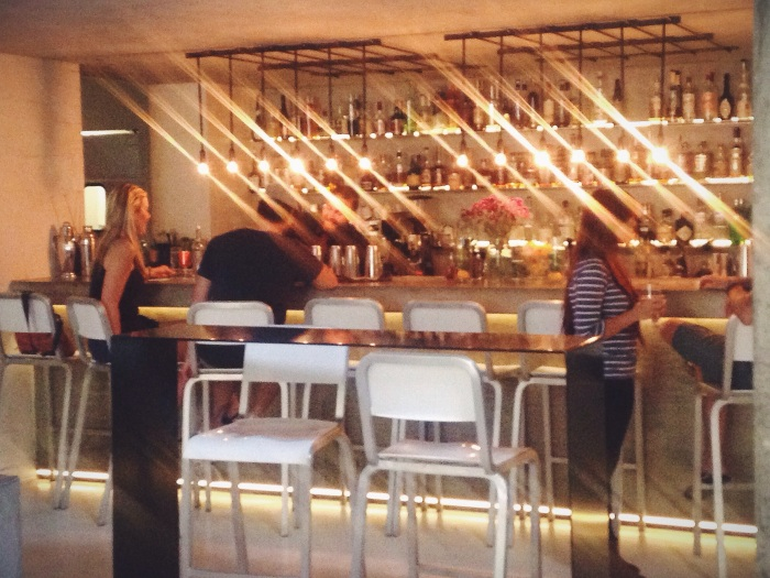 Really cool bar vibe and exceptional wine list, I had a glass of Sauvignon Blanc that was perfection