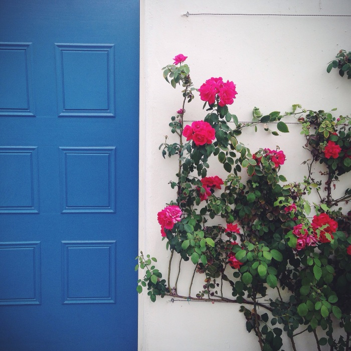 I've never been to Greece but I feel like this is what all the doorways would look like