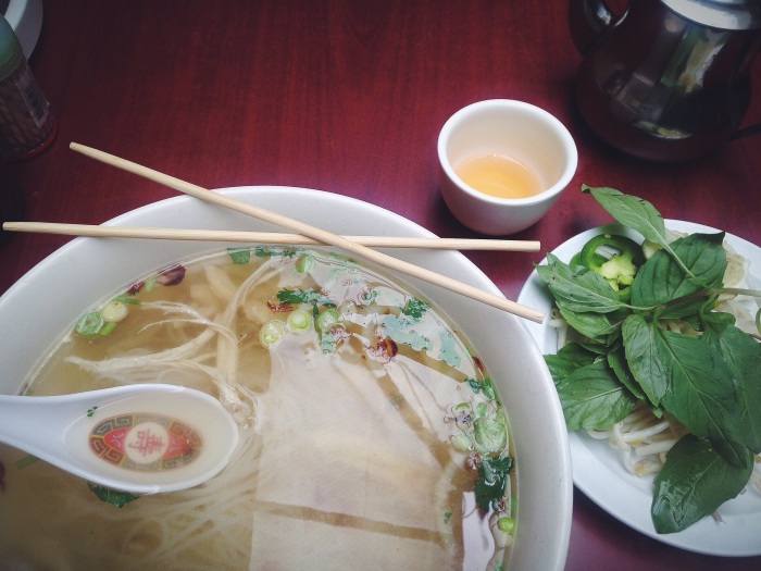 The cold SF summer days call for pho