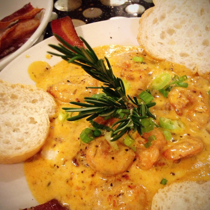 Hands down the best shrimp and grits I have ever had