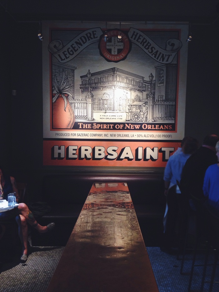 A really amazing spot, highly recommend Herbsaint for a cool vibe and amazing bite