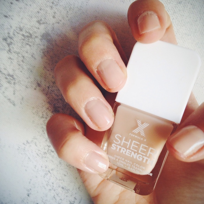Sephora Sheer Strength Nail Polish