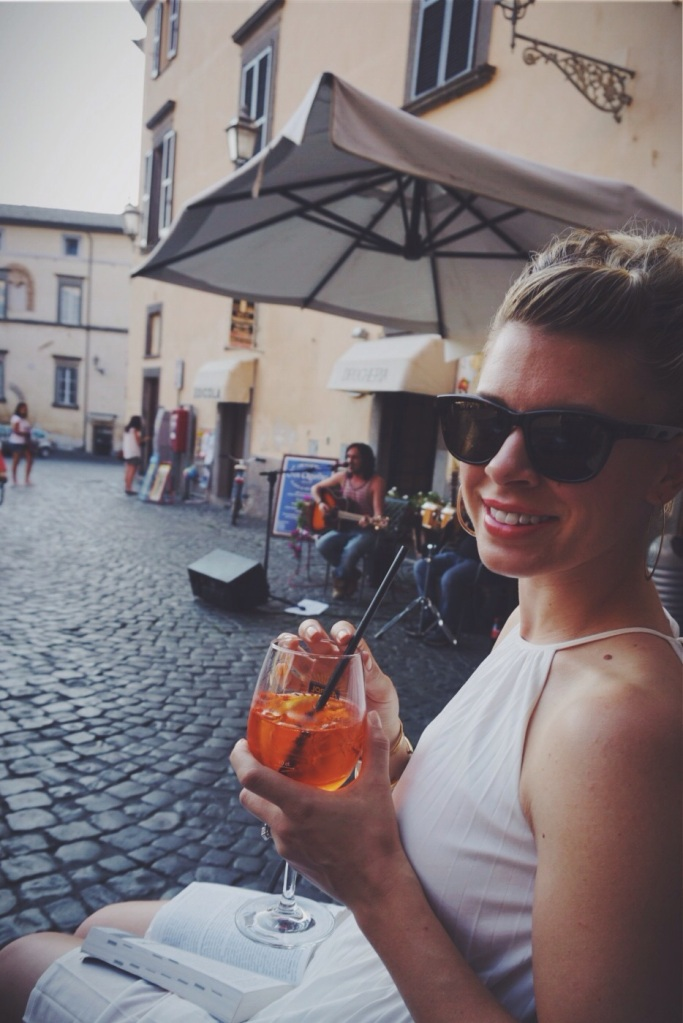 You know I needed the Aperol Spritz to feel official