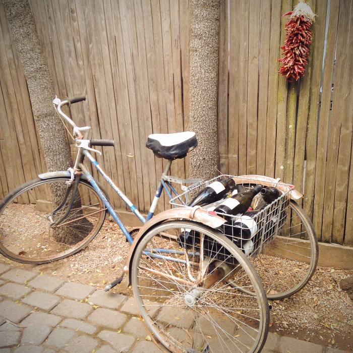 I want to own this bike. And I want to become my neighborhood wine fairy, delivering wine to brighten people's days. Doesn't that sound like a good life?