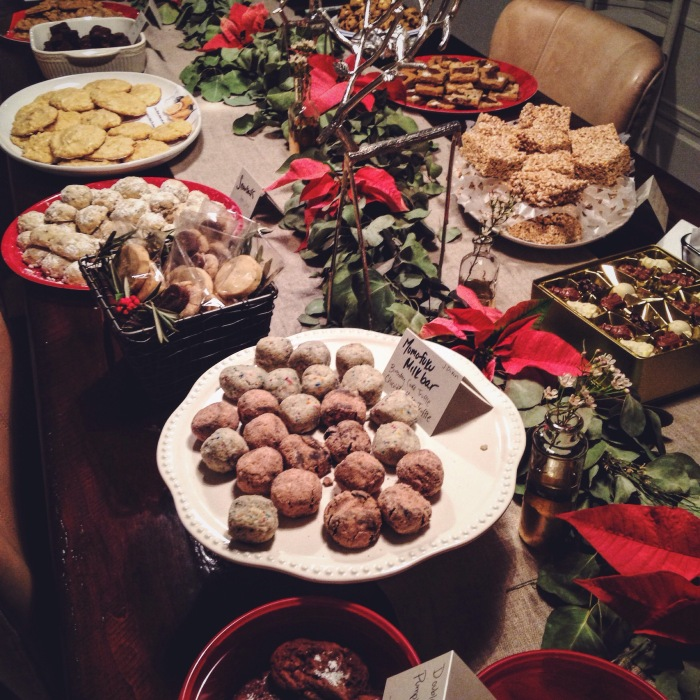 Cookie exchange...such a genius gathering